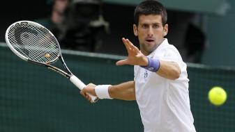 Ѓоковиќ од Вимблдон играл тенис само со левата рака