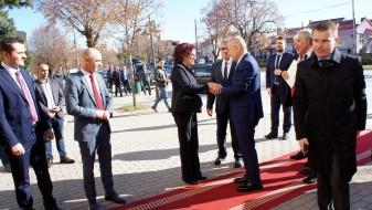 Албанскиот претседател во посета на Битола