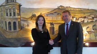 Средба Арсовска – Томан: Унапредување на трговските односи меѓу Македонија и Чешка