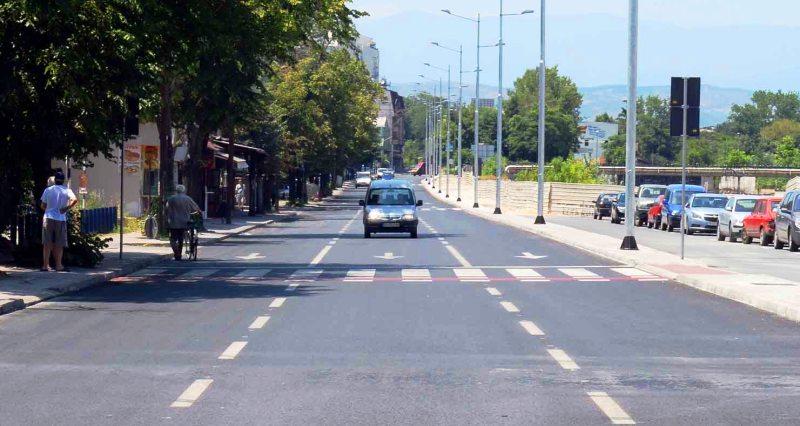 Сообраќајот на улица Јордан Мијалков в сабота ќе се одвива по една лента