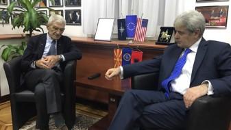 Средба Ахмети – Бутарис за спорот за името и евро-атлантските интеграции