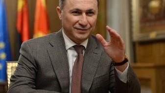 """Груевски: """"Ако некој работи за својата земја, ќе му смислат криминал или сексуална афера"""""""
