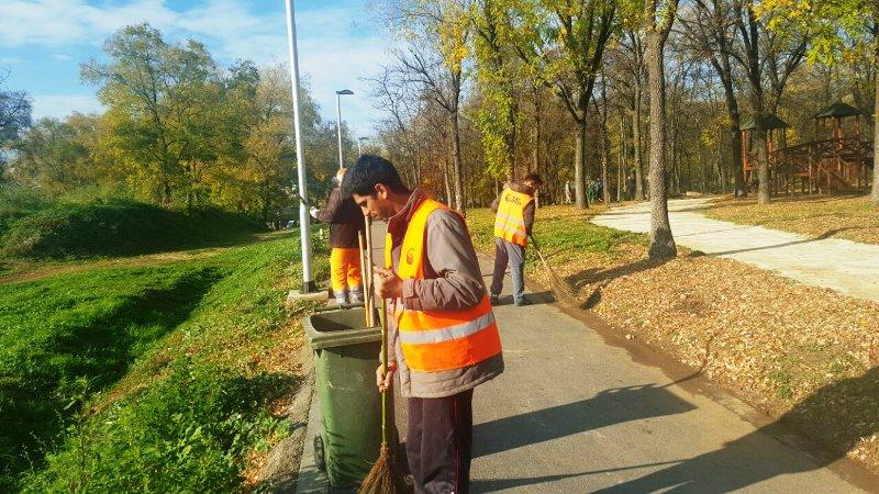 Голема акција за чистење на Скопје