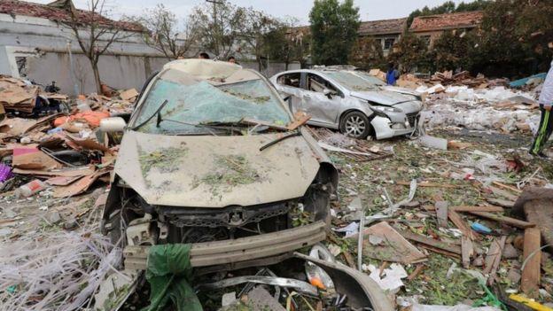 Во експлозија во кинескиот град Нингбо, загинале најмалку двајца