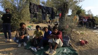 Грчката полиција блокирала 200 мигранти на пат кон Македонија
