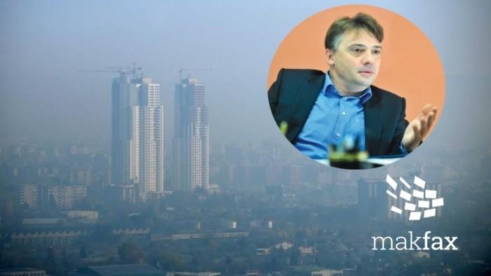 Шилегов допрва ќе прави стратегии за загадениот воздух