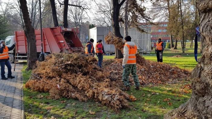 Исчистени депониите во општина Центар