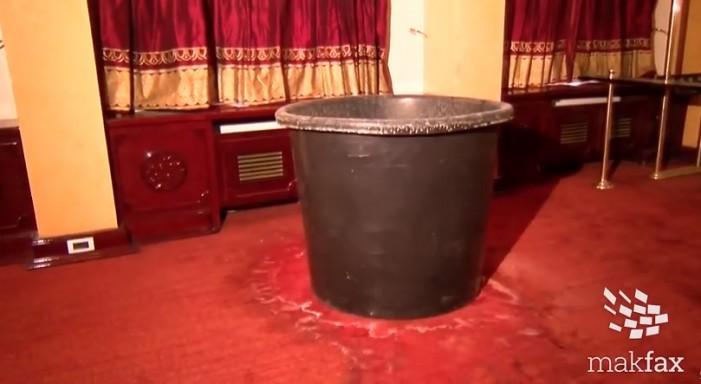 (Видео) Дождот ги оштети МНТ и Археолошкиот музеј, Алаѓозовски најави тужби за изведувачите