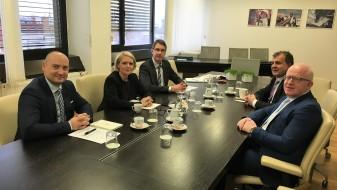Министерот Шапуриќ во Словенија црпеше искуства за имлементација на проекти во повеќе сфери