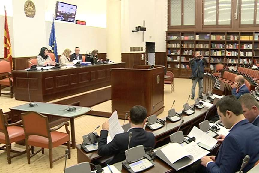 Распрвата за буџетот продолжи без пратениците на ВМРО ДПМНЕ