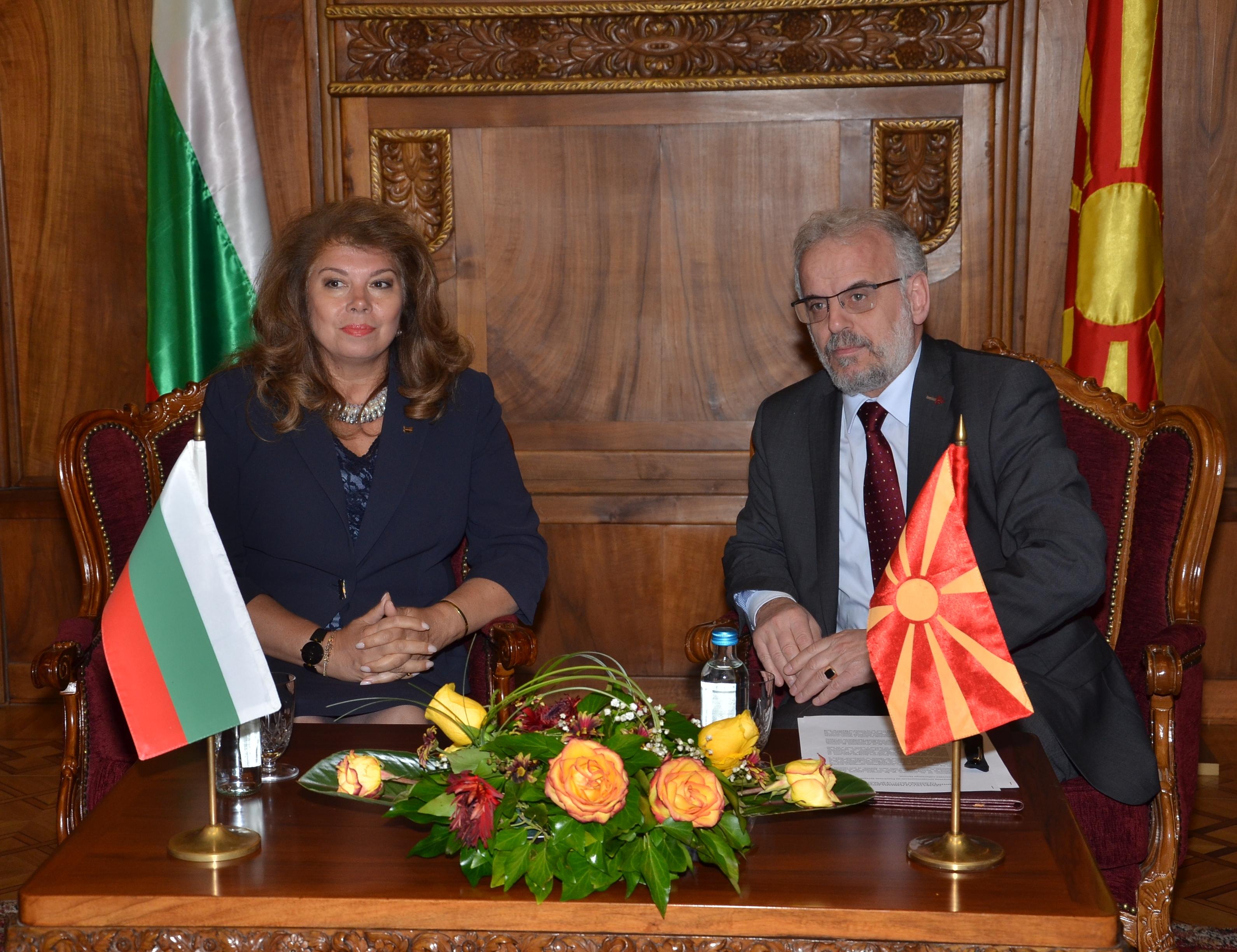 Џафери побарал поддршка од Бугарија за добивање датум за преговори за членство во ЕУ