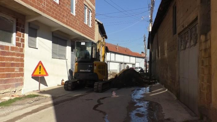 Дел од село Дебреше ќе добие фекална канализација, инвестицијата е вредна 4,5 милиони денари