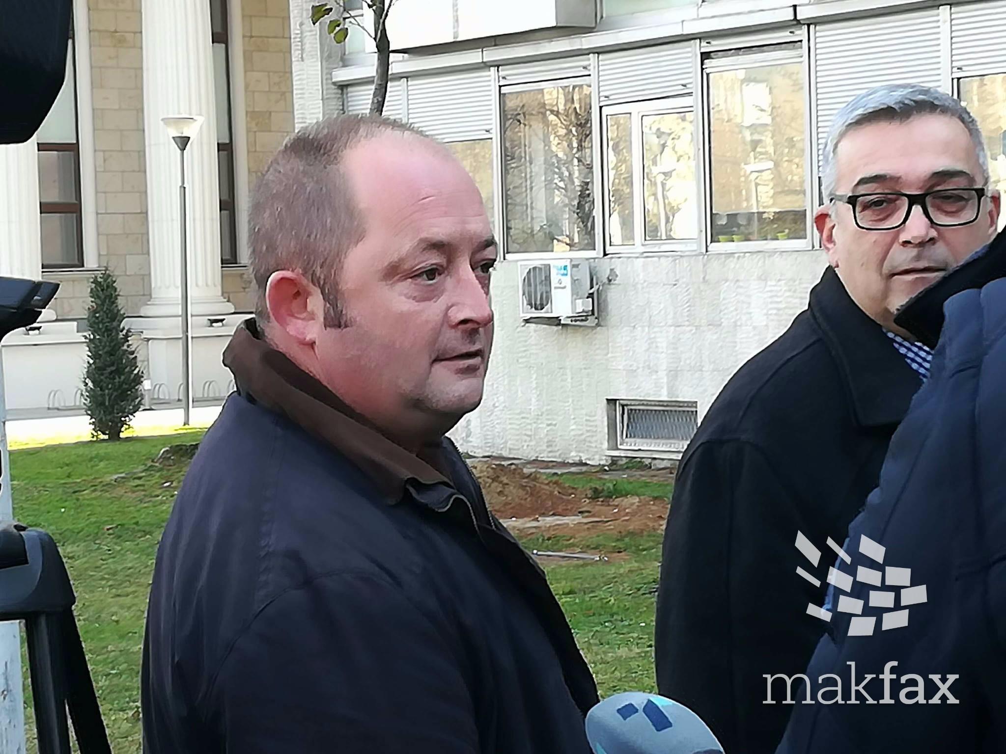 Мукоски штрајкува со глад во истражниот затвор