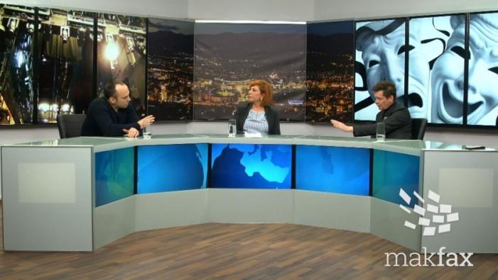 (Видеодебата) Јаниќијевиќ – Тасевски: Театарот влијае врз јавната свест, претстави не се откажуваат