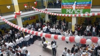 Дебарската гимназија го одбележа Денот на мирот