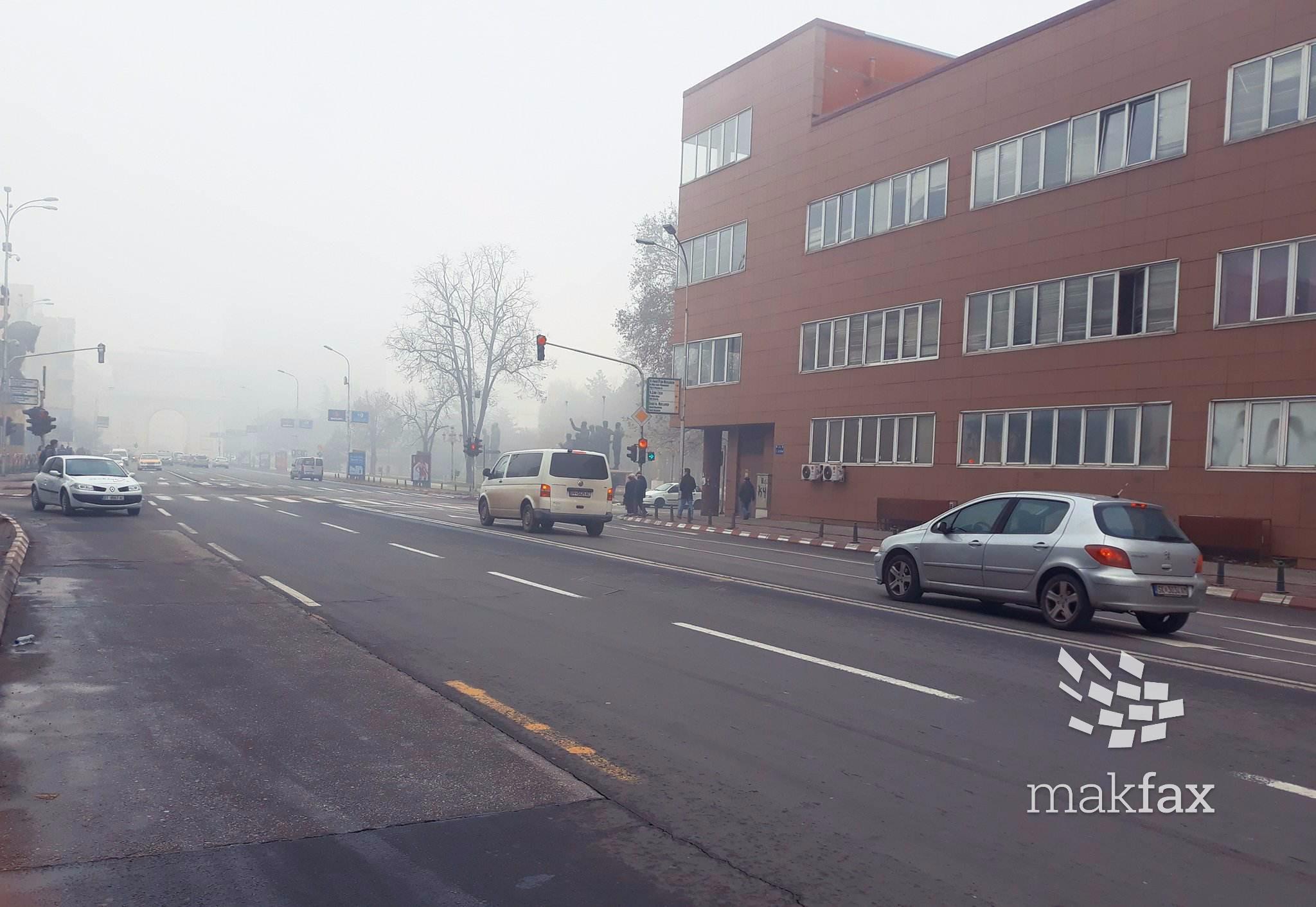 Град Скопје  Нема забрана за влез на возила од други градови поради загадувањето