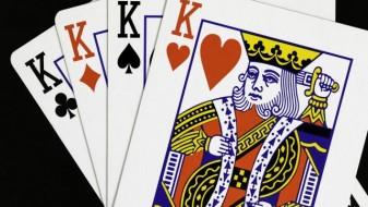 Зошто само кралот во срце нема мустаќи?