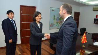 Османи: Инвестициите од Кина се добредојдени