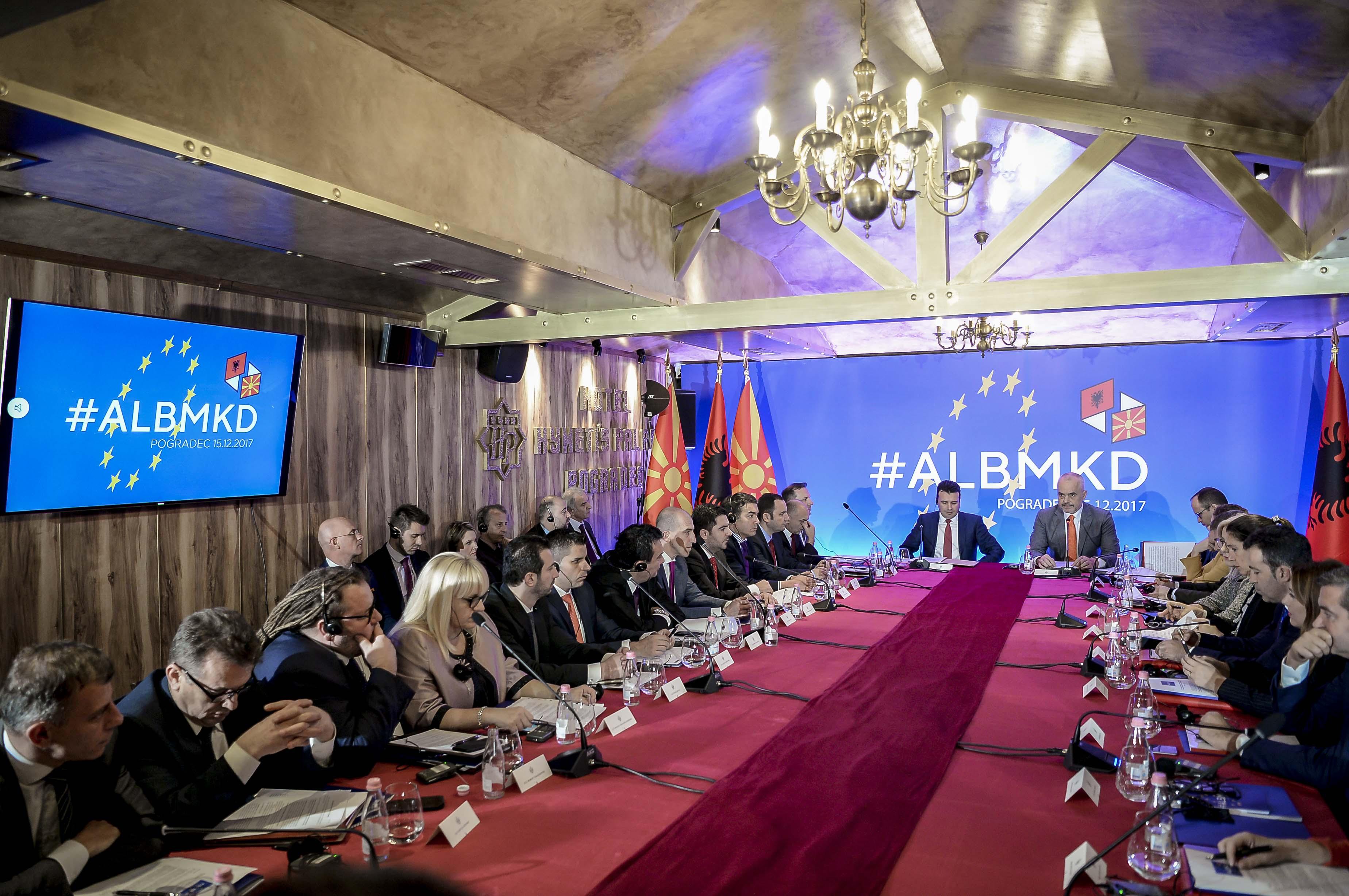 Заштитата на Охридското езеро главна тема на средбата на Дураки со неговиот албански колега