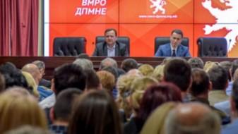 ВМРО-ДПМНЕ тврди дека 15 делегати биле исклучени од конгресот затоа што се функционери
