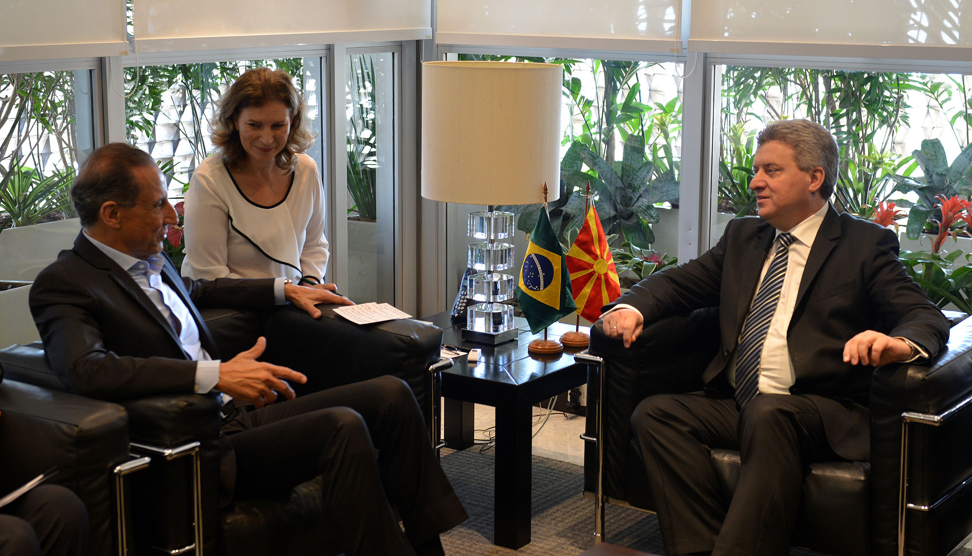 Иванов ја започна посетата на Бразил  утре свечено отворање на македонската амбасада