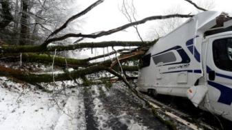 Снегот ја парализираше Велика Британија