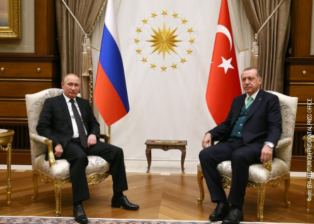 Путин и Ердоган согласни за Ерусалим  наскоро продажба на Ц 400