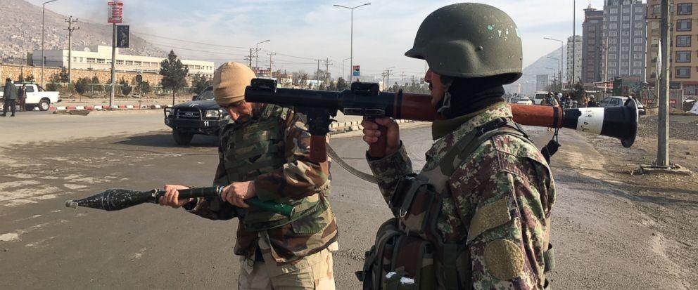 Убиени напаѓачите во Кабул