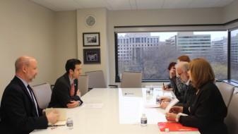 Џафери ја заврши посетата на Вашингтон со средба со претседателот на ИРИ