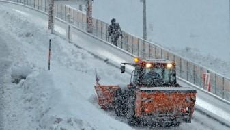 Снежно невреме во Австрија, повредена една жена