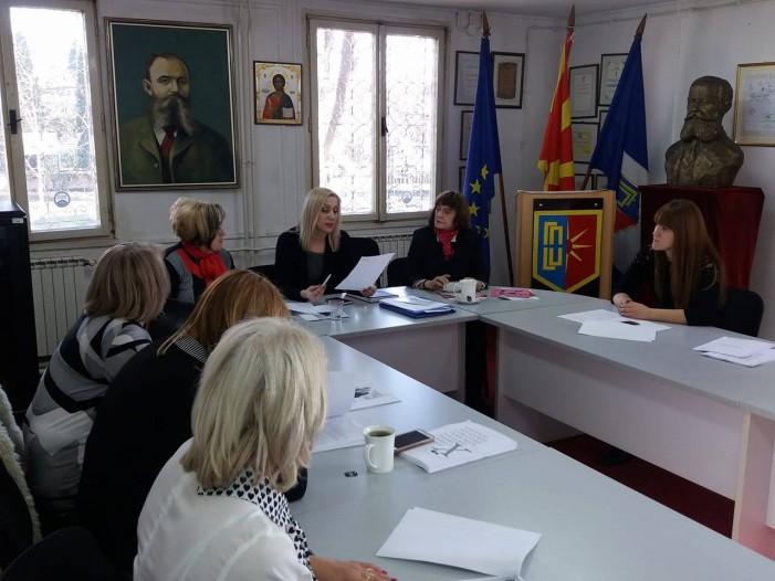 Дебата за семејно насилство во Ѓорче Петров