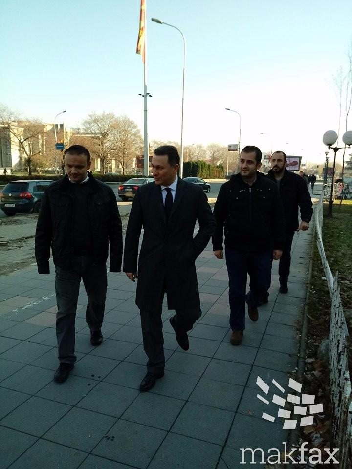 Груевски  Не сум нарачал шамари  ме судат за неколку скршени прозорци
