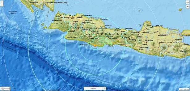 Во земјотресот на Јава има жртви  издадено е предупредување и за цунами