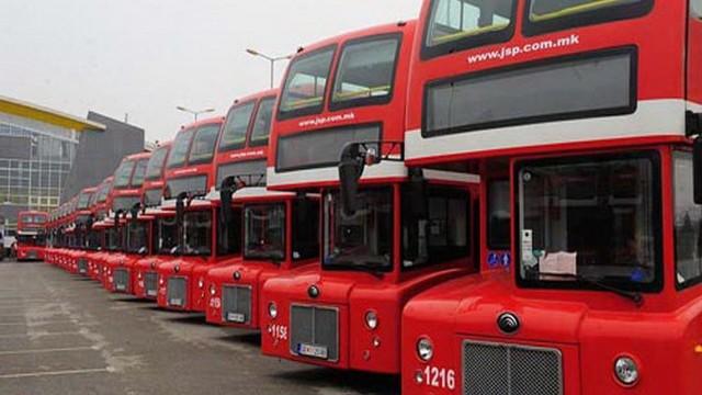 И за продолжениот викенд автобусите на ЈСП ќе возат бесплатно до Средно Водно