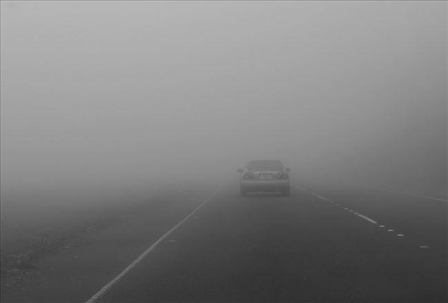 АМСМ  Магла во Крушево  сообраќајот на останатите патиштa се одвива нормално