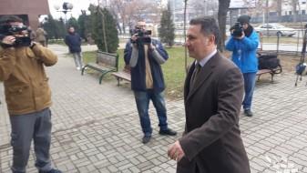 Груевски неделава само в четврток не е на суд