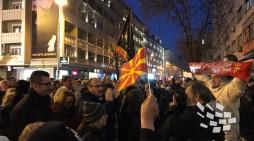 ВМРО-ДПМНЕ на протест повторно побара ослободување на притворените