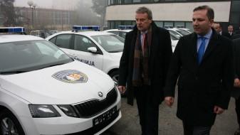 """МВР доби 45 """"шкоди"""" како донација од Чешка"""