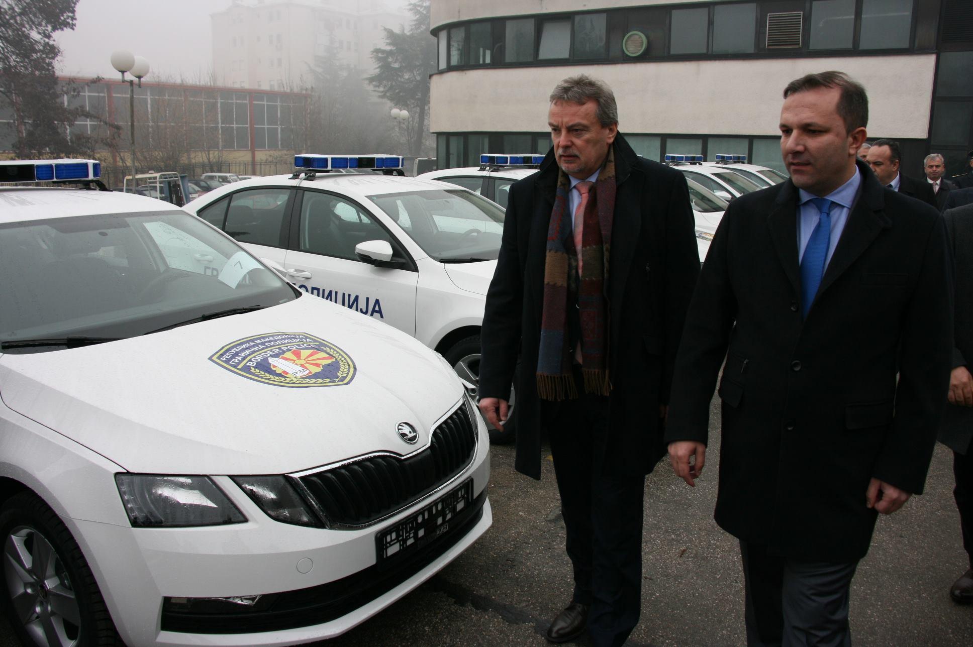 МВР доби 45  шкоди  како донација од Чешка