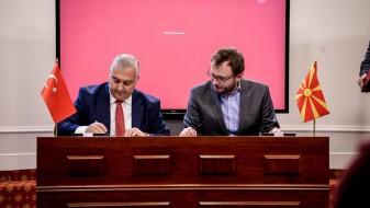 """(Видео) Турската компанија """"Мурат Тиџарет"""" потпиша договор за закуп на градежно земјиште во ТИРЗ"""