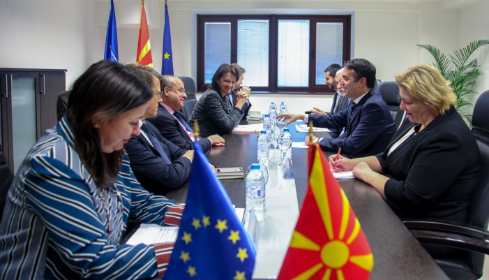 Димитров: Охрабрен сум од реформското темпо на нашиот европски пат