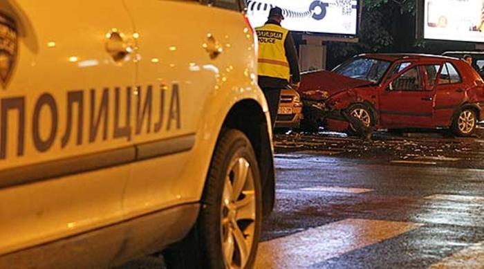 Седум сообраќајни несреќи, еден со тешки и седум со полесни повреди