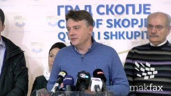 """(Видео) Со пари од проектот """"Скопје 2014"""" ќе се поставуваат енергетски ефикасни фасади"""