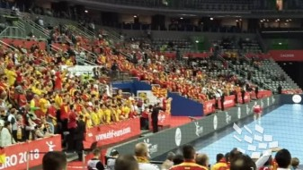 (Видео) Навивачите слават, Македонија е прва во групата