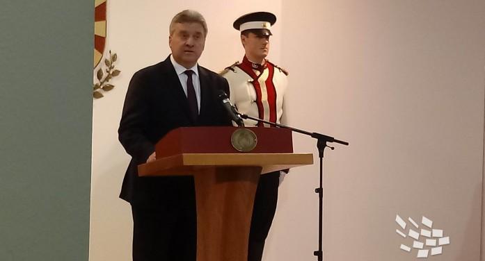 (Видео) Иванов: Не го потпишав Законот за употреба на јазиците бидејќи е противуставен