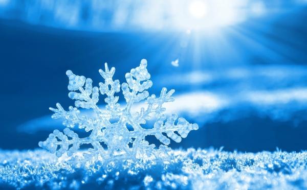 Земјава под студен воздушен бран од север  со услови за снег