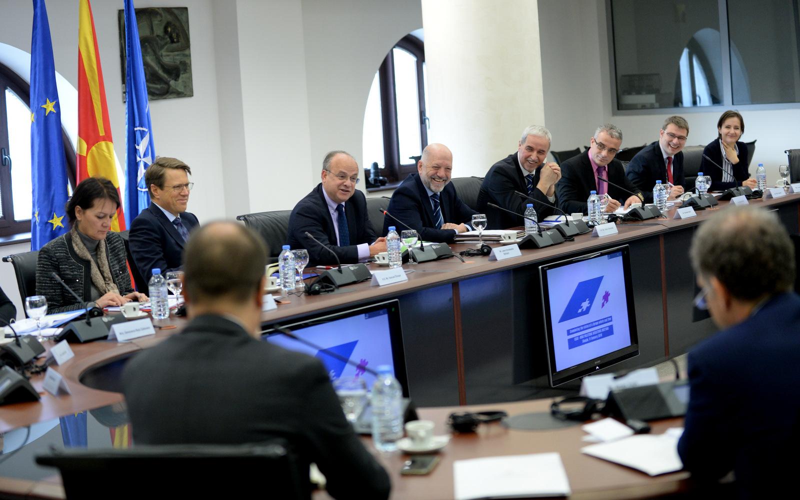 Состанок на Европската служба за надворешни работи со политичките директори од Западен Балкан