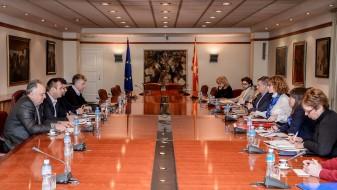 Двете страни се отворени за дијалог и изнаоѓање решенија, соопштија од Владата по средбата со КСС