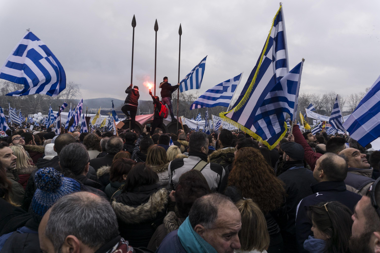 Протести на 4 февруари во Атина со порака  Македонија е грчка