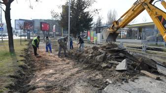 Продолжува реконструкцијата на велосипедските патеки во Скопје